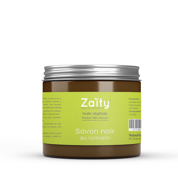 Savon-Noir romarin Zaity