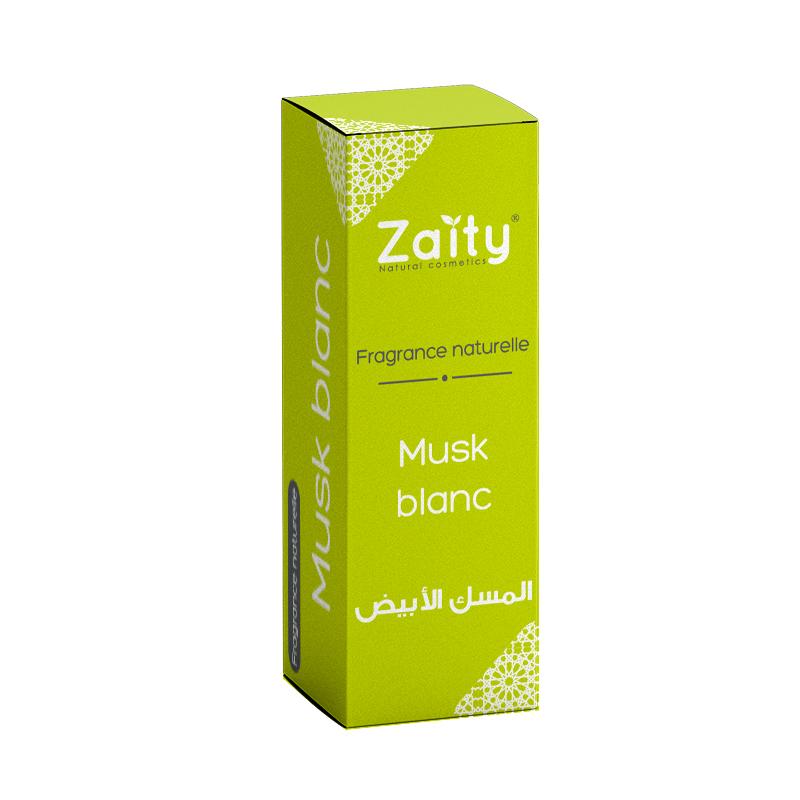 Fragrance naturelle musk blanc Zaity