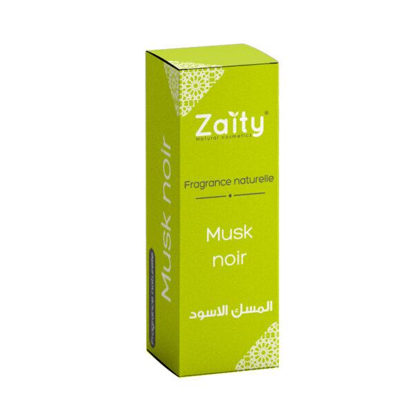 Fragrance naturelle musk noir Zaity